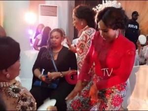 Video: Faithia Balogun, Iyabo Ojo Dances As Others Spray Money On Mercy Aigbe At Her 40th Birthday